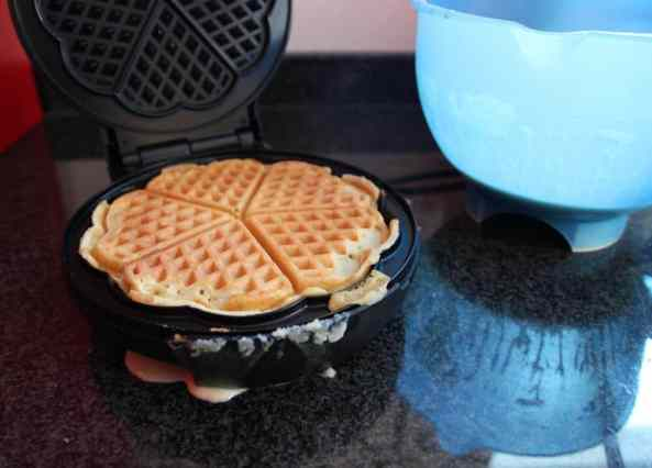 Waffeln - Making-of