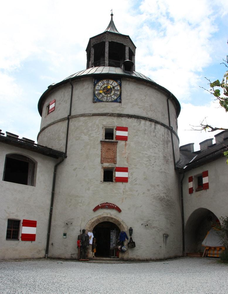Erlebnisburg Hohenwerfen: Burghof