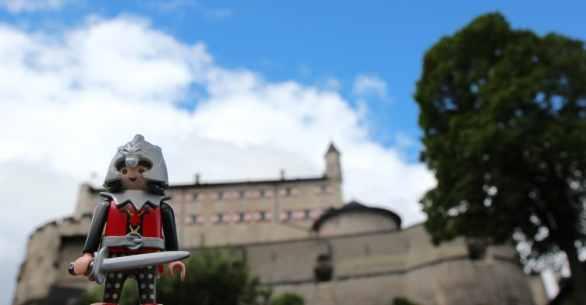 Erlebnisburg Hohenwerfen: Gibt es heute noch Ritter?