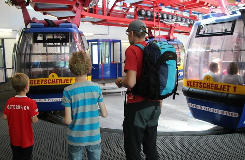 Kitzsteinhorn: Gondelfahrt