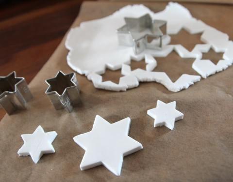 weihnachtliches Basteln mit Fimo Air