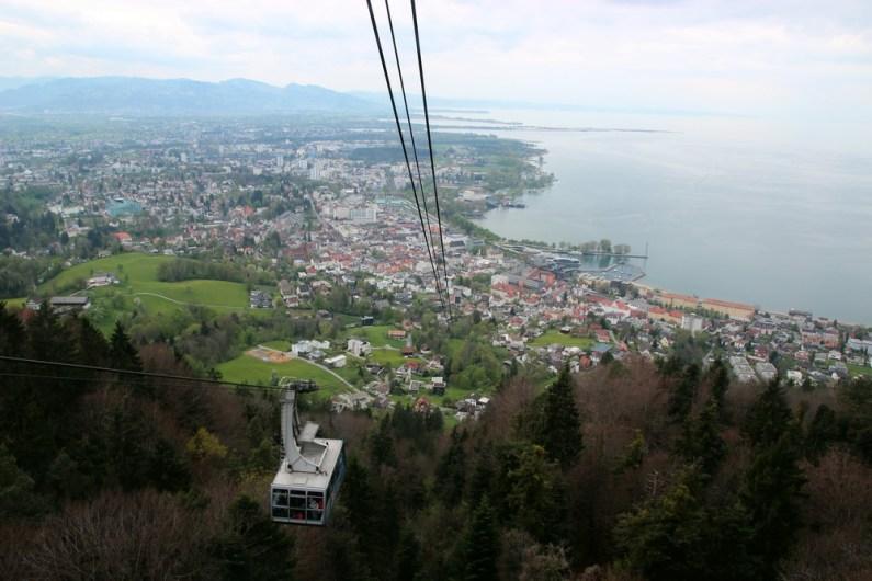 Pfänderbahn, Bregenz