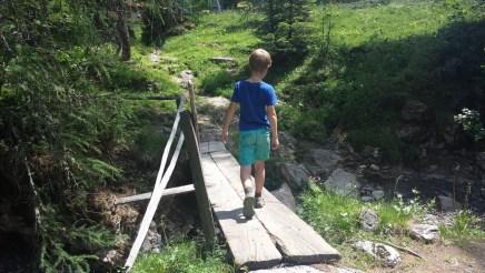 Wandern mit Kind: Von der Filzmoosalm zur Loosbühelalm