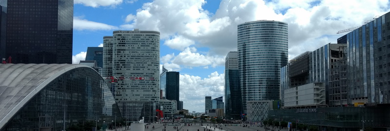 Paris mit Kind | La Defence