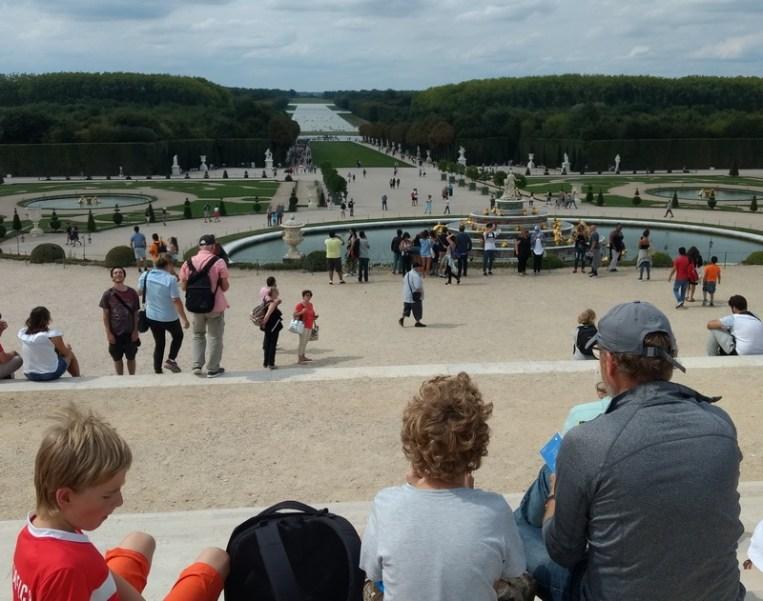 Paris mit Kind   Versailles