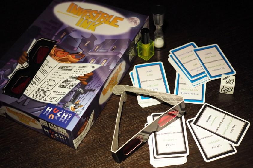 """Tipp: Neues Familienspiel """"Invisible Ink"""" von HUCH! Spiele"""