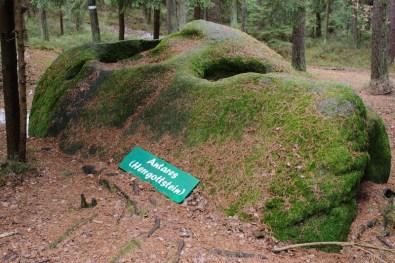 Waldviertel mit Kind: Platz des Skorpions: Herrgottstein