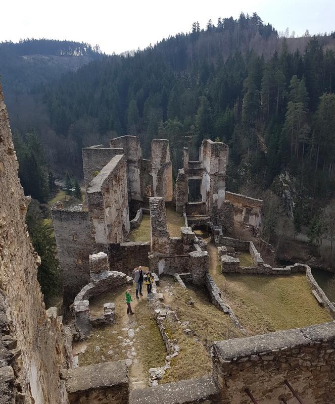 Waldviertel mit Kind: Ruine Kollmitz