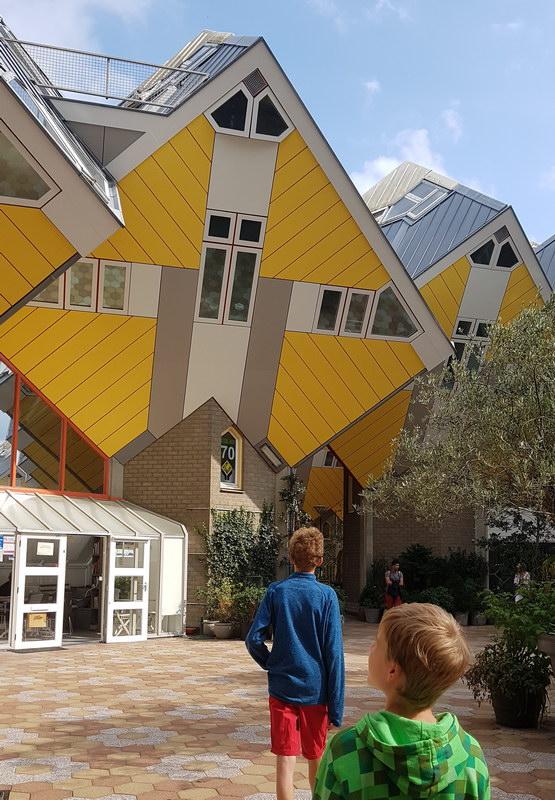 Rotterdam mit Kind: Kijk Kubus