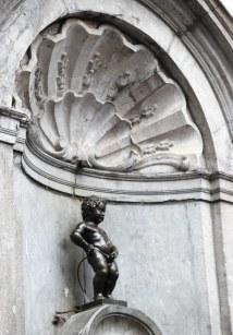 Brüssel mit Kind: Manneken Pis