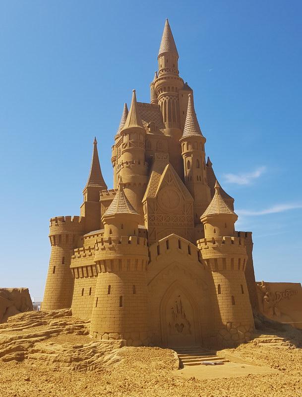 Flandern mit Kind: Disney Sand Magic Oostende