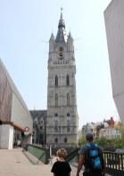 Flandern mit Kind: Gent, Belfried