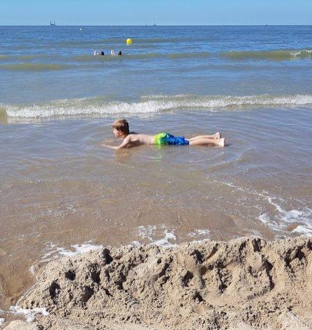 Flandern mit Kind: Nordsee in Belgien