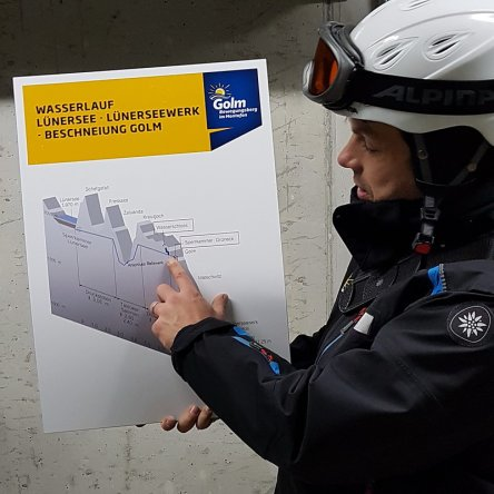 Erfahrungsbericht Skifahren mit Kind am Bewegungsberg Golm, Montafon: Tour Faszination Bergbahn