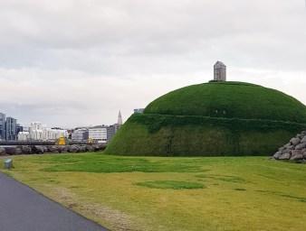 Island mit Kind: Reykjavik mit Familie - Skulptur Thufa