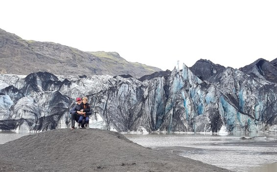 Island mit Kindern: Ringstraße Süden: Sólheimajökull