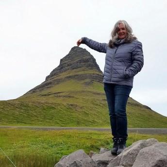 Island mit Kind: Kirkjufell Snaefellsness