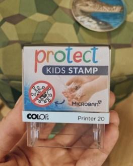 Mit dem Protect Kids Stamp in die Schule
