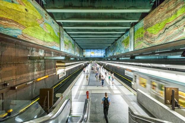 U-Bahn Station Volkstheater der U3