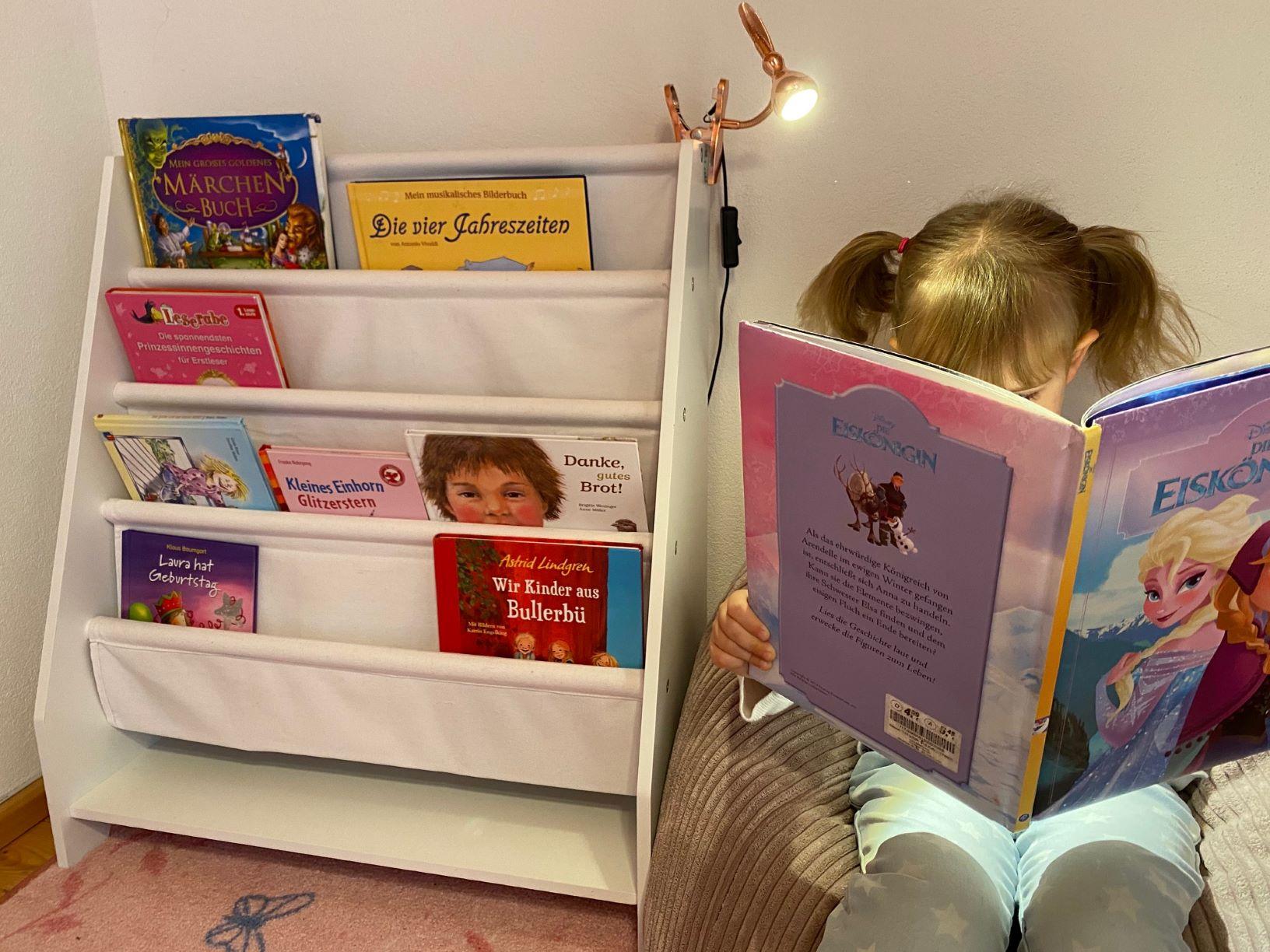 Kleine Leseratte