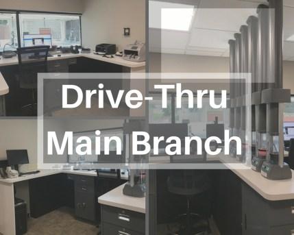 drive-thru main branch