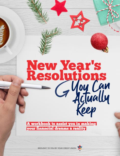 New Years Resolution Workbook