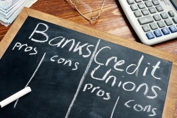 pros cons bank _ credit union
