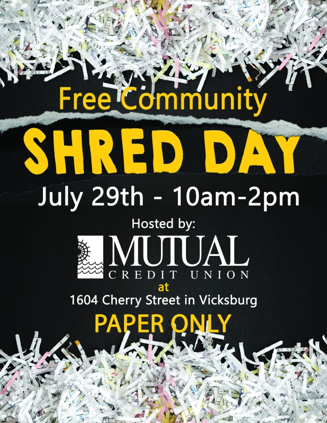 Shred Day Flyer 2020