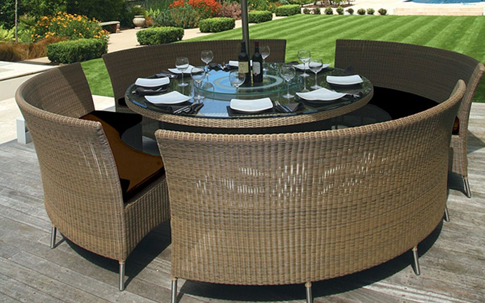 round patio table and chairs mutual