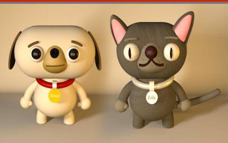 Dino y Lila, las nuevas mascotas de Mapfre
