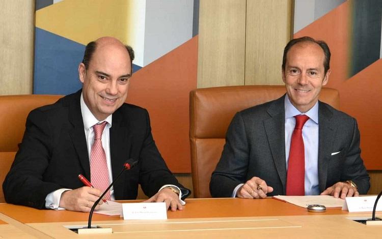 Luz verde a la alianza de Mapfre y Banco Santander en seguros