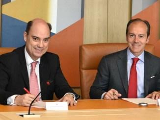 Mapfre y Banco Santander
