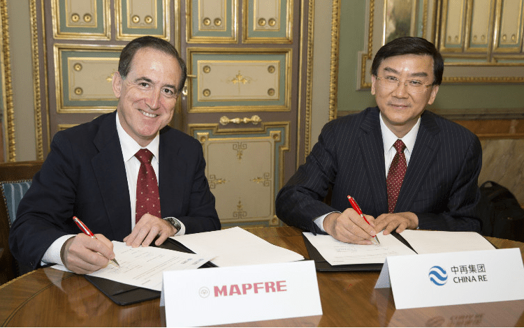 Mapfre y China Re