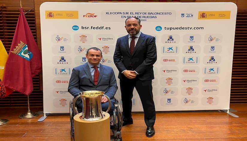 Plus Ultra Seguros patrocinará tercer año consecutivo Copa Rey baloncesto silla ruedas
