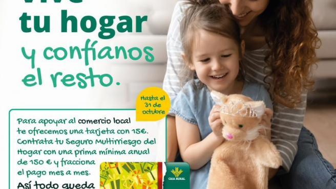 Caja Rural de Aragón y Seguros RGA apoyan al comercio local con campañas de seguros