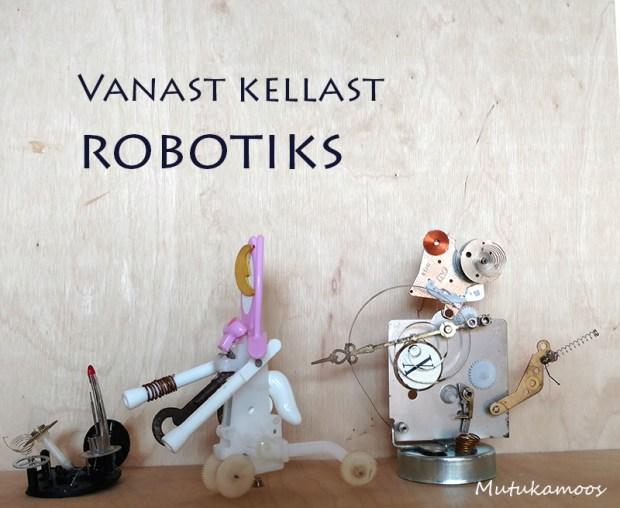 isetehtud robot 2v