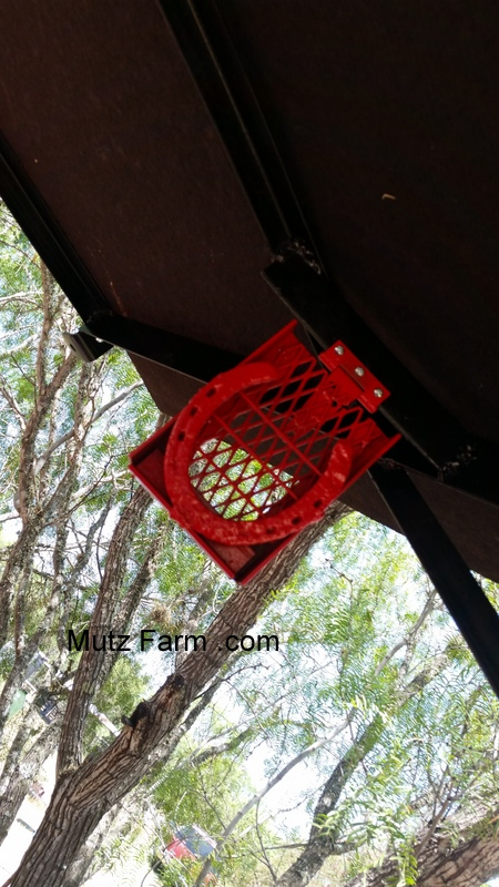She wanted some where to hang her cell phone while she was on the tractor. You can also see one of the brackets on the front for a future light to be ... & Homemade Tractor Canopy - Why pay when you can build for a ...