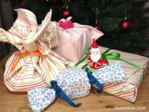 Fabric gift wrap ideas