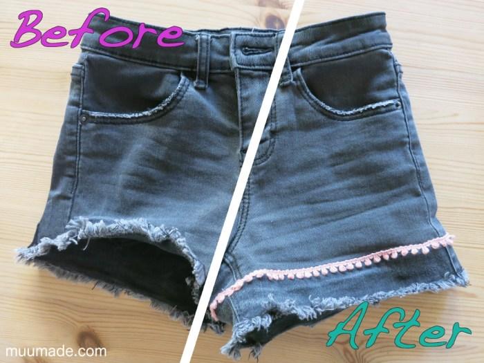 Making Shorts Less Short -Muumade.com