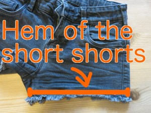 Making shorts less short