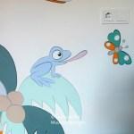 babykamer muurschilderij