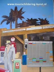 muurschildering garage