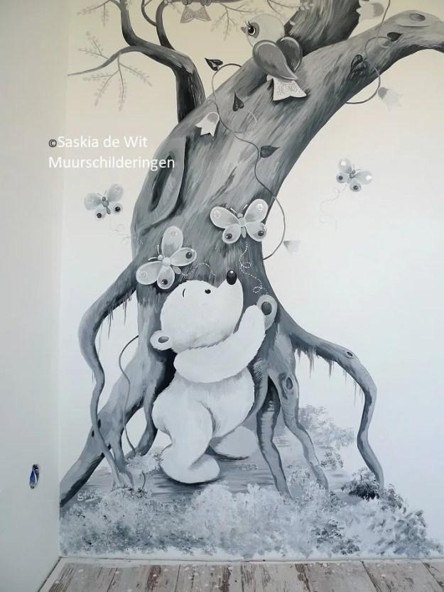 kinderkamer muurschildering laten maken