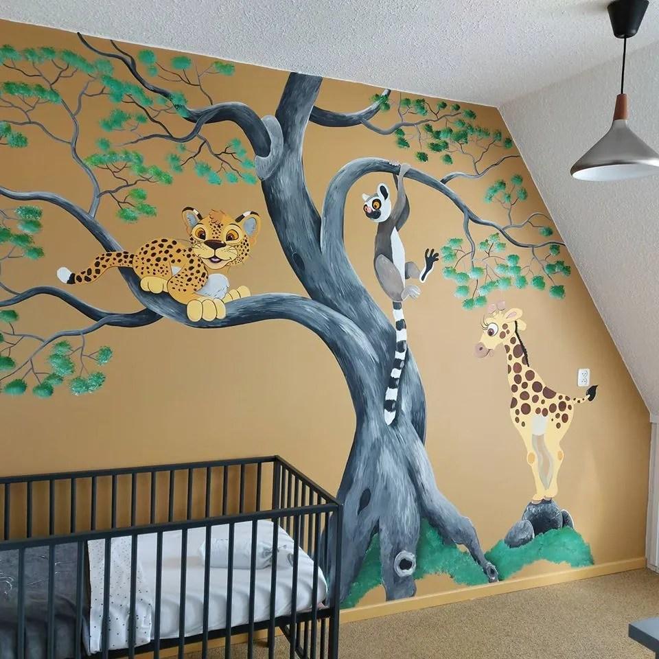 babykamer muurschilderingen