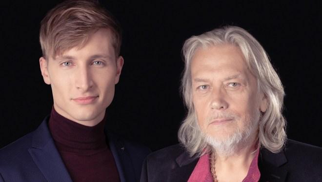 Karl-Erik Taukar ja Tõnis Mägi