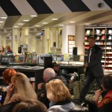 """Mart Sander esitles raamatut """"Kõhedad muinaslood"""" (foto: 1/18)"""