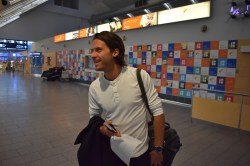 Victor Crone Tallinna Lennujaamas (foto: 4/7)