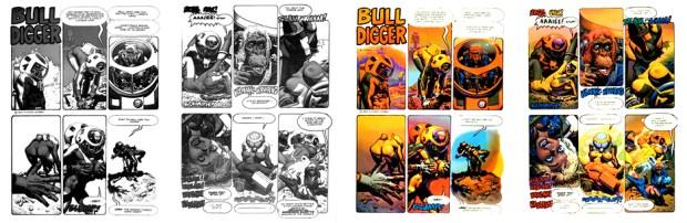 Bull Digger, 2 pgs