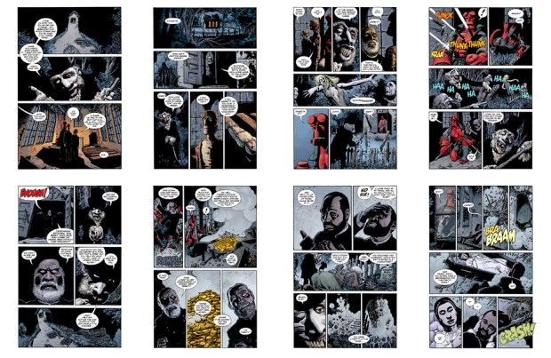 Hellboy: The Crooced Man (the original art plates), Part 3, 24 pgs
