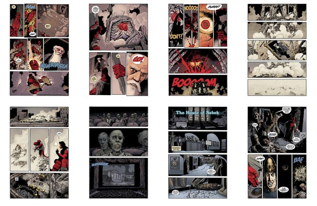 Hellboy: Double Feature of Evil, 28 pgs
